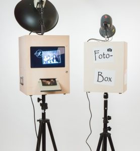 Rückseite der Fotoboxen